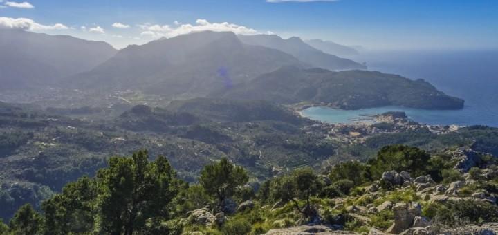 Puig de Bàlitx desde el Mirador de Ses Barques